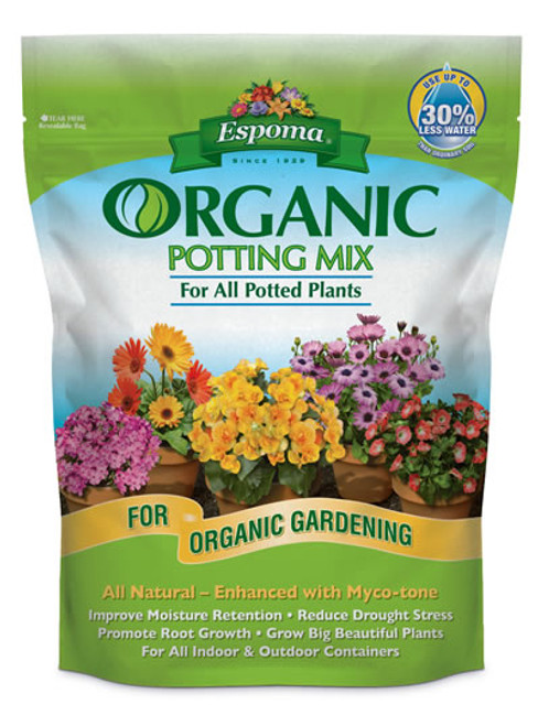 Organic Potting Mix, 1 Cubic Foot