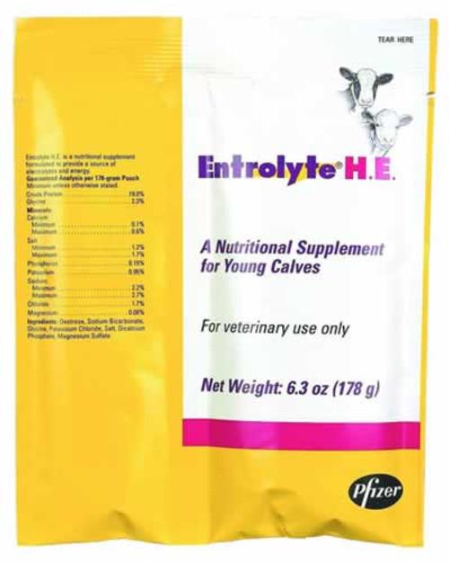 Pfizer Entrolyte Electrolyte H.E. Packets, 178 Grams