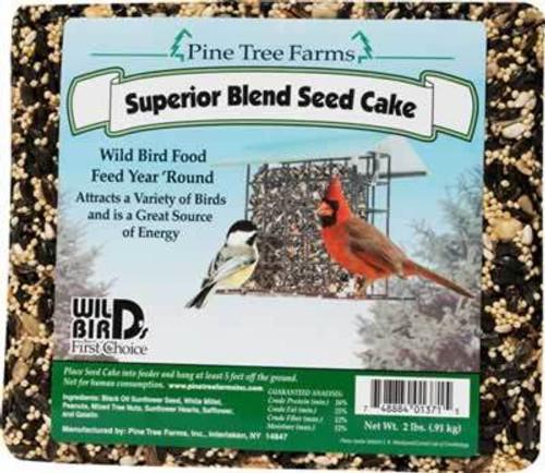 Pine Tree Farms Superior Blend Bird Seed Cake
