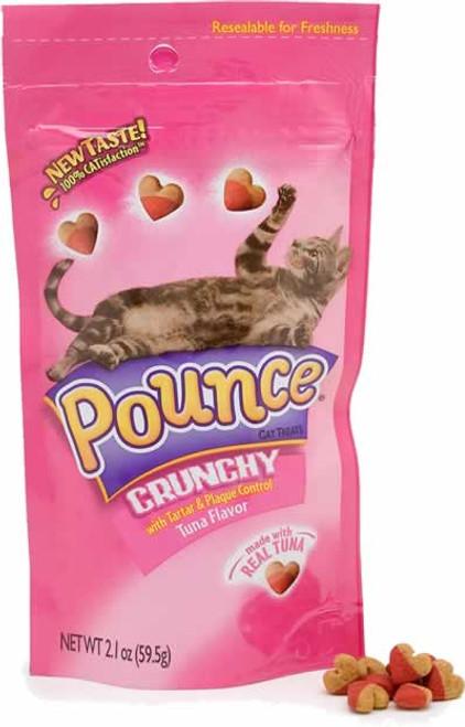 Pounce Tartar & Plaque Control Tuna Flavored Cat Treats