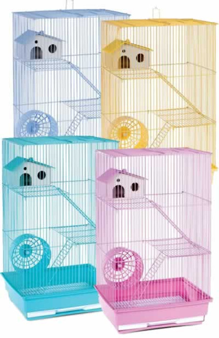 Prevue Pet 3 Story Hamster Cage