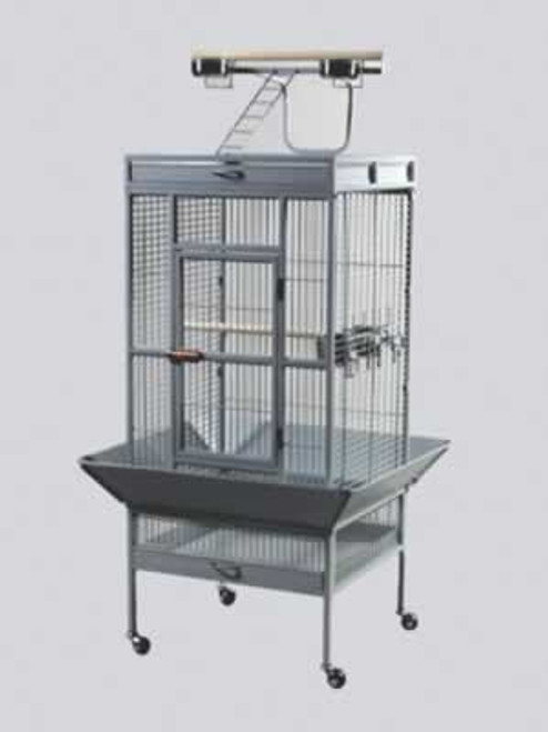 Prevue Pewter Select Cage, 18x18x57 Inch