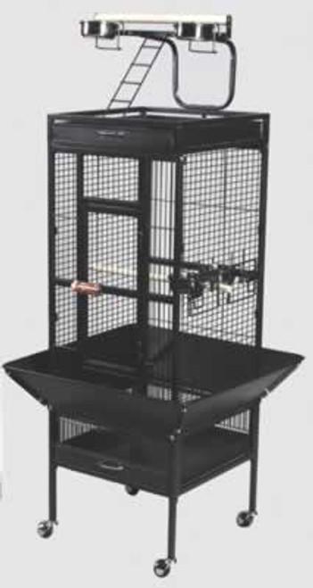 Prevue White Select Cage, 18x18x57 Inch