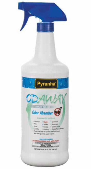 Pyranha Odaway Odor Absorber for Horses 32 Ounces