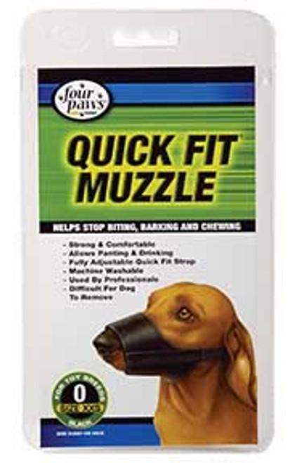 Quick Fit Muzzle, Black Size 0
