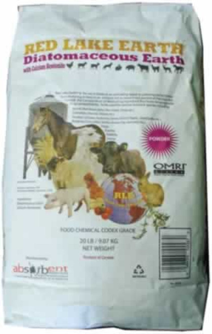 Red Lake Diatomaceous Earth Food Grade 40 Pounds