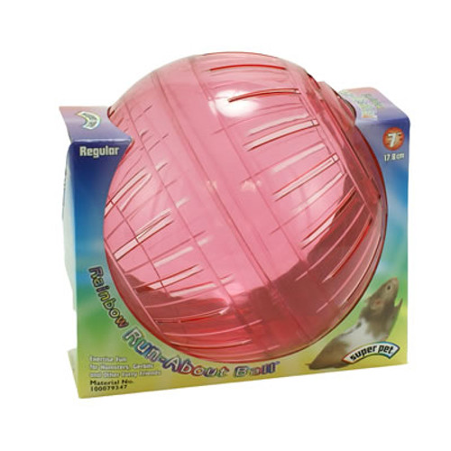 Run About Ball, Rainbow, 7 Inches