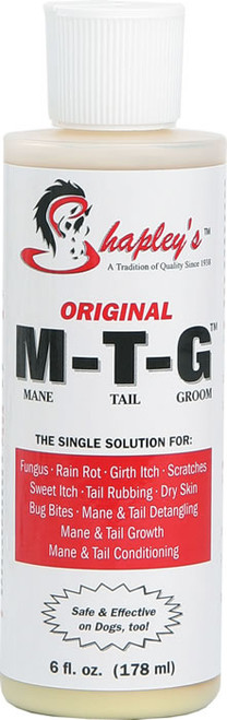 Shapley's Original M-T-G Mane Tail Groom Horse Solution, 8-oz