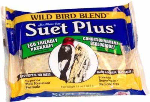 Suet Plus Wild Bird Blend Suet Cake