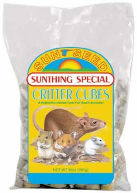 Sun Seed Sunthing Special Critter Cubes, 2 Pound