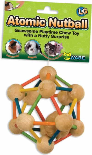Ware Atomic Nutball Small Animal Chew Toy