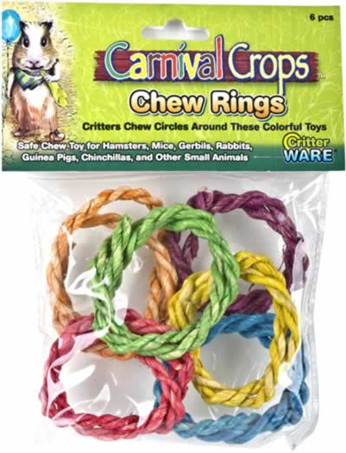 Ware Carnival Crops Chew Rings for Small Animals