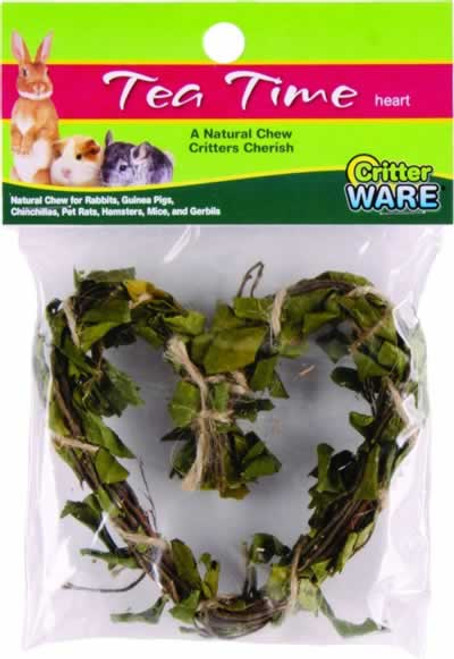 Ware Tea Time Tea Leaves Heart Chew for Small Animals