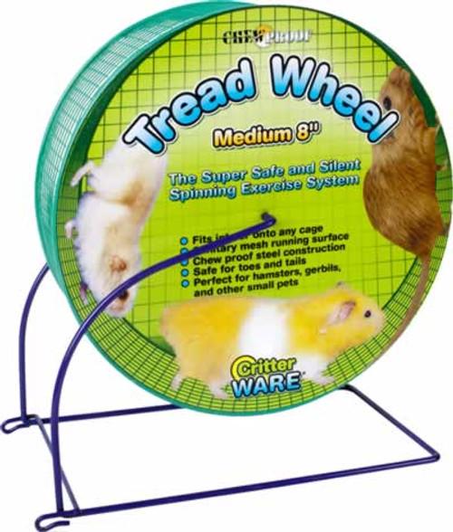 """Ware Wire Mesh Tread Wheel for Small Animals 8"""""""