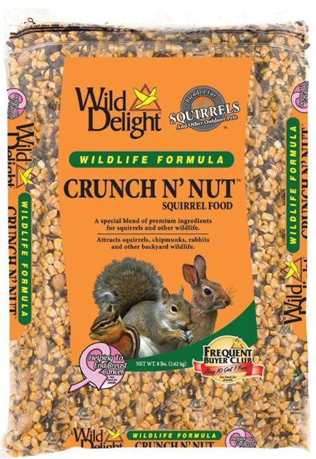 Wild Delight Crunch N Nut Squirrel Food 8 Lb