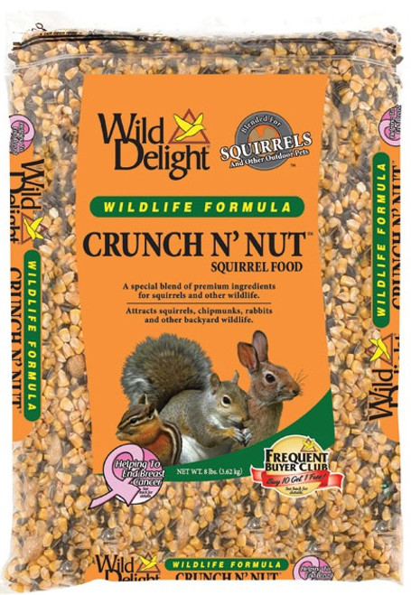 Wild Delight Crunch N Nut Squirrel Food 8 Lb