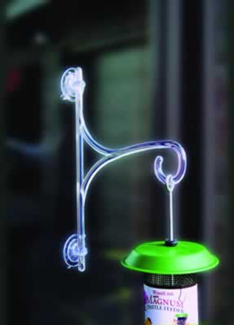 Window Hang Up With Suction Cups, 4lb Capacity