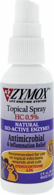 Zymox Hydrocortisone 0 5% Topical Cream for Dogs & Cats, 10