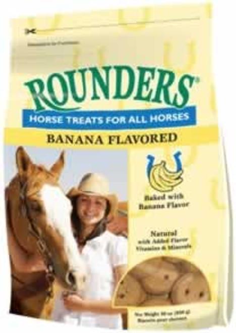 Blue Seal Banana Rounders Horse Treats, 30 Oz.