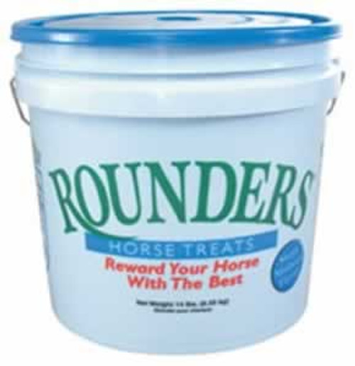 Blue Seal Molasses Flavored Rounders Horse Treats, 14 Pound