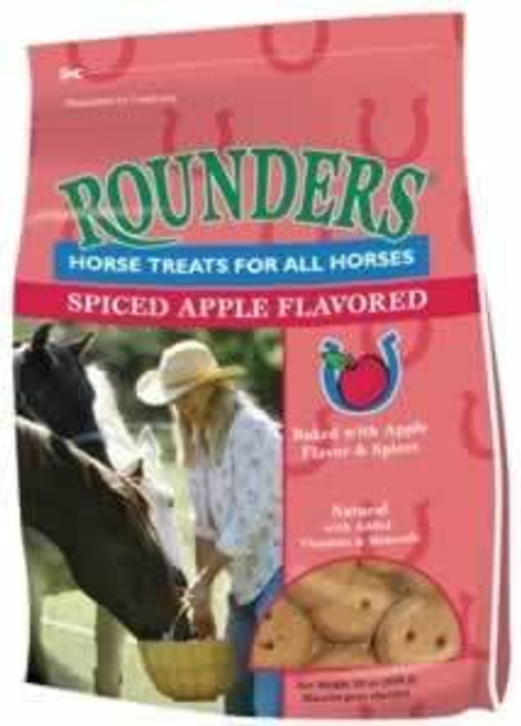 Blue Seal Spiced Apple Rounders Horse Treats, 30 Oz.