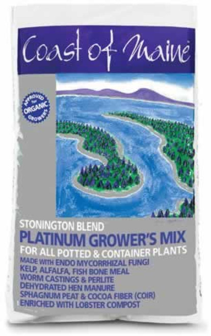 Coast of Maine Stonington Blend Platinum Grower's Mix 1.5 Cubic Feet
