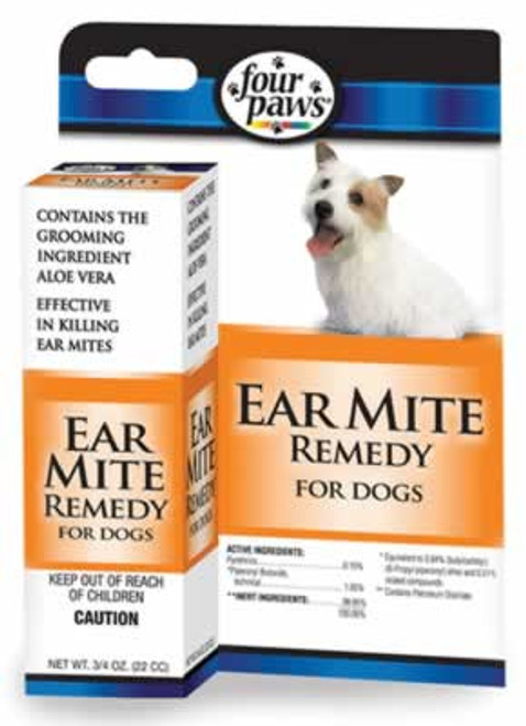 Ear Mite Remedy For Dogs, 1 Ounce