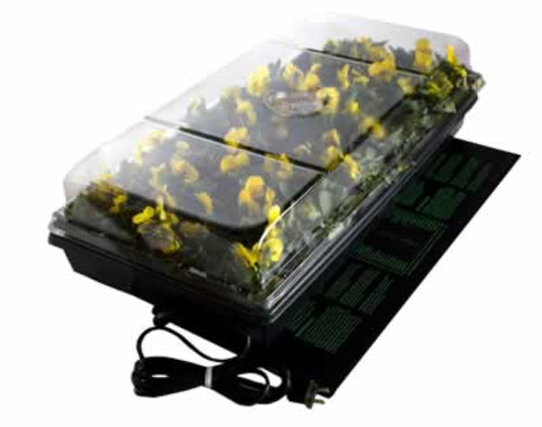 "Hydrofarm Germination Station With Heat Mat 11"" x 20"""