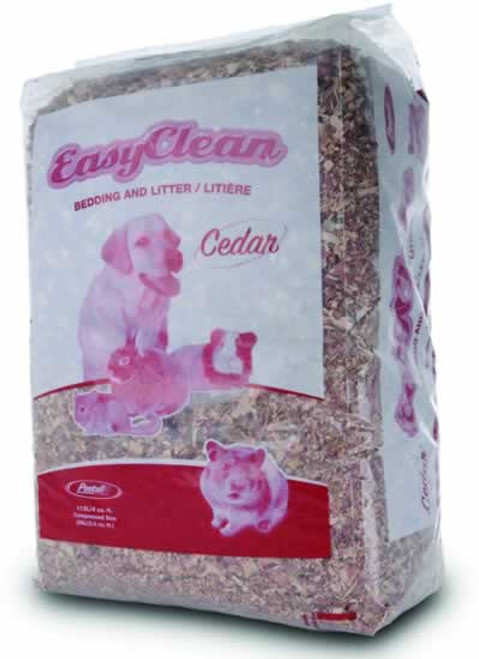 Pestell Easy Clean Red Cedar Bedding & Litter, 4 Cubic Feet