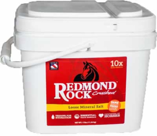 Redmond Daily Red Crushed Mineral Salt Horse Supplement 25 Pounds