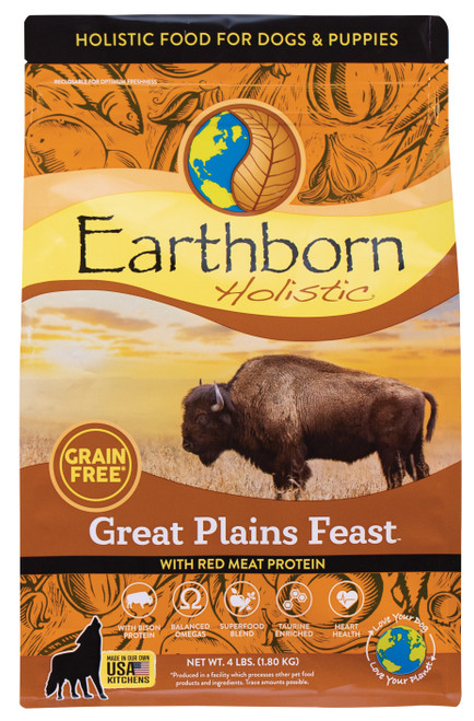 Earthborn Holistic Great Plains Feast Grain Free Dog Food