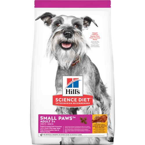 Hill's Science Diet Adult 7+ Small Paws Dog Food