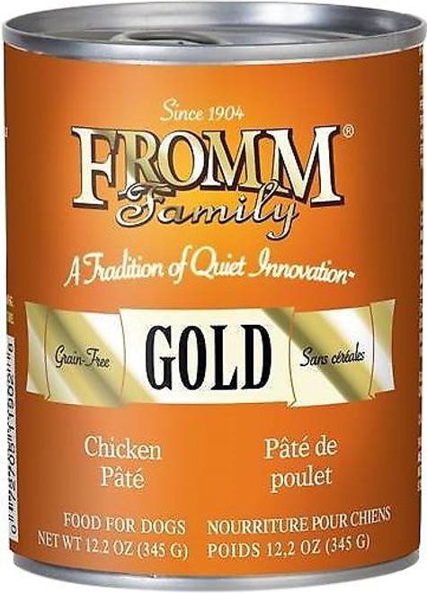 Fromm Gold Chicken Pate Canned Dog Food 12.2 Oz