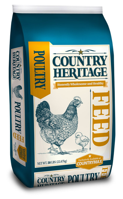Country Heritage Chick Starter 18% Crumble 50 Pounds