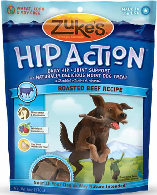 Zukes Beef Hip Action Dog Treats