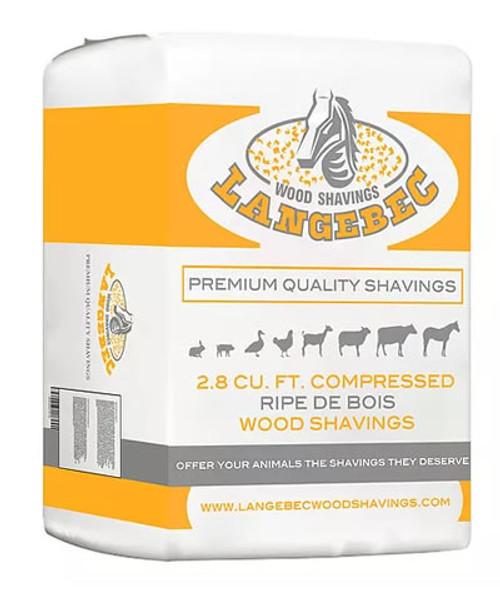 Langebec Wood Shavings Fine Cut