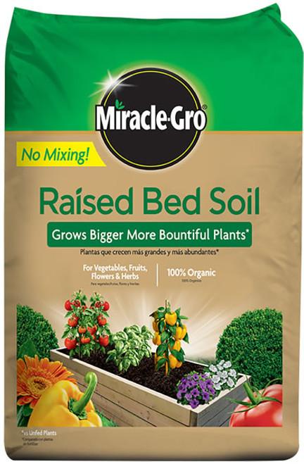 MiracleGro Raised Bed Soil