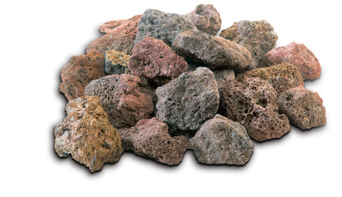 GrillPro Replacement Lava Rock for Grills - 7lbs