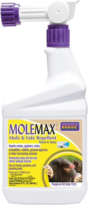 Bonide MoleMax Ready to Use Quart Hose End Spray