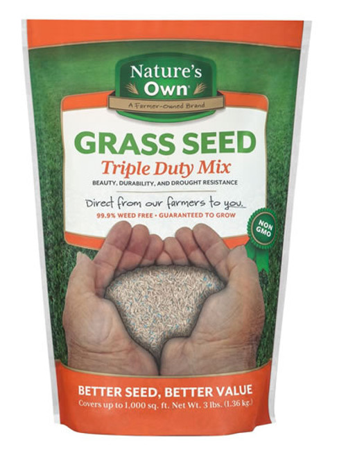 Nature's Own Grass Seed, Triple Duty Mix