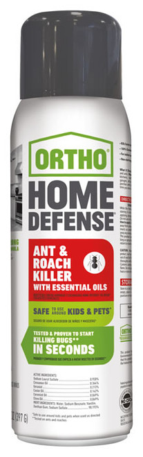 Ortho® Home Defense® Ant & Roach Killer with Essential Oils 14oz