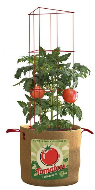Panacea Tomato Grow Bag with Plant Support