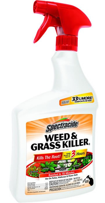 Spectracide Weed and Grass Killer, Ready-To-Use, 32oz