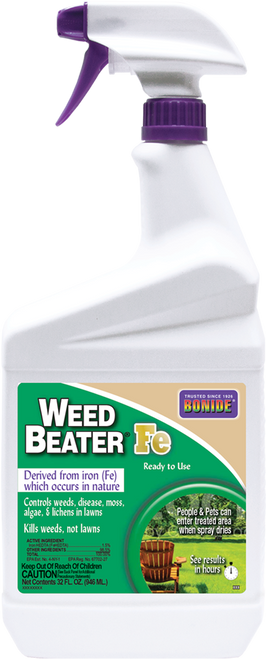 Bonide Weed Beater FE 5-in-1 Ready To Use, Quart