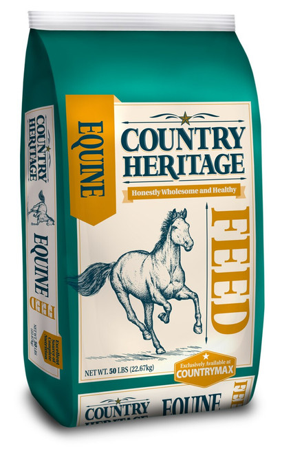Country Heritage Fortify Horse 12% Pelleted Feed, 50#