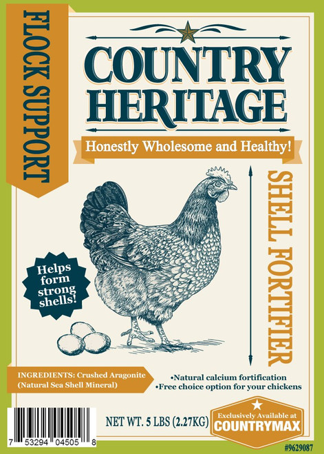 Country Heritage Shell Fortifier, 5# Bag