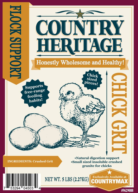 Country Heritage Chick Grit, 5# Bag
