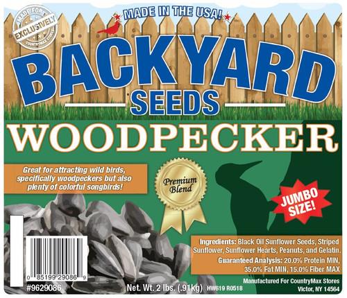 Backyard Seeds Woodpecker Seed Cake 2 Pounds