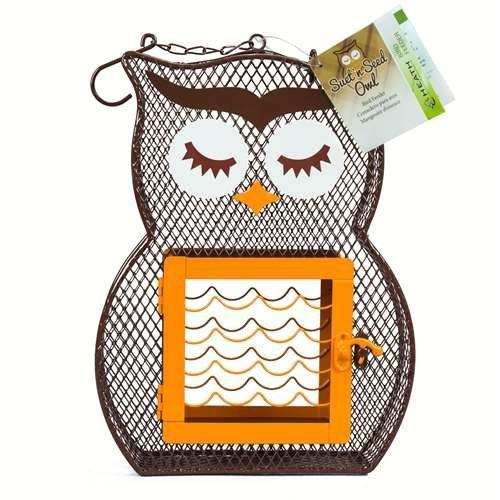 Heath Suet 'N Seed Feeder, Owl