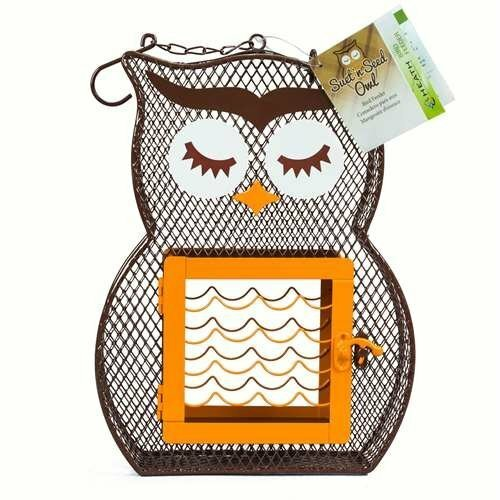 Heath Suet 'N Seed Feeder, Owl